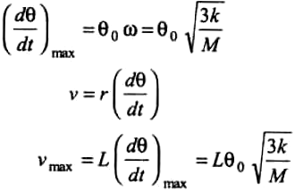A long uniform rod of length L and mass M is free to