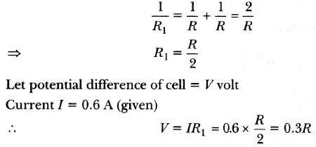 In the given circuit diagram, the cell and the ammeter, both have ...